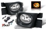 Honda Accord Sedan 2003-2005 Smoked OEM Style Fog Lights Kit