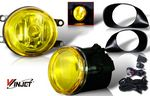 2008 Toyota Yaris Hatchback Yellow OEM Style Fog Lights Kit