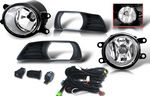 2008 Toyota Camry Smoked OEM Style Fog Lights Kit