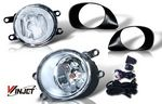 2008 Toyota Yaris Hatchback Clear OEM Style Fog Lights Kit