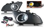 2004 Mazda 6 Clear Halo OEM Style Fog Lights Kit