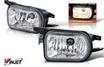 Mercedes Benz C Class 2001-2007 Clear OEM Style Fog Lights