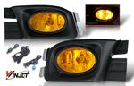 Honda Accord Sedan 2003-2005 Yellow OEM Style Fog Lights Kit