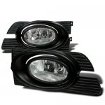 Honda Accord Sedan 2001-2002 Clear Fog Lights Kit