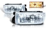 BMW E36 3 Series 1992-1998 Clear OEM Style Fog Lights