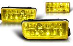 1996 BMW E36 3 Series Yellow OEM Style Fog Lights