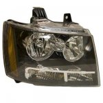 2009 Chevy Avalanche Right Passenger Side Replacement Headlight