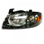 Nissan Sentra 2004-2006 Black Left Driver Side Replacement Headlight