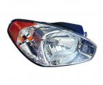 Hyundai Accent 2007 Right Passenger Side Replacement Headlight