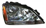 2004 Kia Sorento Right Passenger Side Replacement Headlight