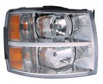 2007 Chevy Silverado 2500HD Right Passenger Side Replacement Headlight