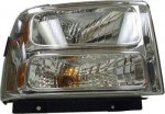 Ford F250 Super Duty 2005-2007 Right Passenger Side Replacement Headlight
