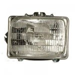 2000 Ford F250 Super Duty Left Driver Side Replacement Headlight