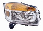 2009 Nissan Armada Right Passenger Side Replacement Headlight