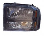 Ford F250 Super Duty 2005-2007 Left Driver Side Replacement Headlight