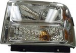 2005 Ford F350 Super Duty Left Driver Side Replacement Headlight