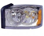 2007 Dodge Dakota Left Driver Side Replacement Headlight