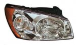 Kia Spectra LX Sedan 2004-2006 Right Passenger Side Replacement Headlight