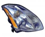 2005 Nissan Maxima Right Passenger Side Replacement Headlight