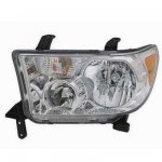 2010 Toyota Tundra Left Driver Side Replacement Headlight