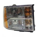 2009 GMC Sierra Right Passenger Side Replacement Headlight