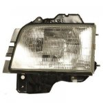 2000 Isuzu Trooper Left Driver Side Replacement Headlight