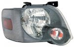 2006 Ford Explorer Black Right Passenger Side Replacement Headlight