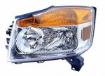 2009 Nissan Armada Left Driver Side Replacement Headlight