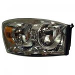 Dodge Ram 2007-2009 Right Passenger Side Replacement Headlight