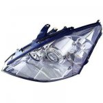 2004 Ford Focus Left Driver Side Replacement Headlight