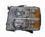 2007 Chevy Silverado 2500HD Left Driver Side Replacement Headlight
