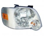 Ford Explorer Trac 2007-2010 Clear Right Passenger Side Replacement Headlight