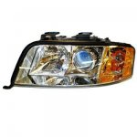 2004 Audi A6 V6 Left Driver Side Replacement Headlight