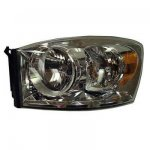 Dodge Ram 2007-2009 Left Driver Side Replacement Headlight