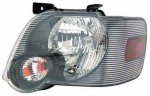 2006 Ford Explorer Black Left Driver Side Replacement Headlight