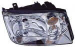 2002 VW Jetta Right Passenger Side Replacement Headlight