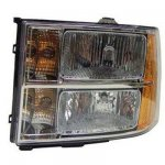 2009 GMC Sierra Left Driver Side Replacement Headlight