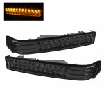 2002 Chevy S10 Smoked LED Bumper Lights