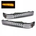 2002 Chevy S10 Clear LED Bumper Lights