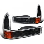 Ford F250 Super Duty 1999-2004 Black Bumper Lights and Corner Lights