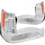 Jeep Grand Cherokee 1993-1998 Clear Front Bumper Lights