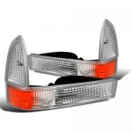 Ford F250 Super Duty 1999-2004 Clear Bumper Lights and Corner Lights