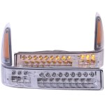 Ford F250 Super Duty 1999-2004 LED Bumper Lights and Corner Lights Chrome
