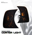 1991 BMW 3 Series Smoked Corner Lights