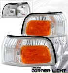 1993 Honda Accord Clear OEM Style Corner Lights
