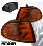 Honda Civic 1992-1995 Smoked Amber Corner Lights