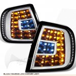 2003 Ford F150 Black LED Corner Lights