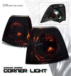 1996 BMW E36 Coupe 3 Series Smoked Corner Lights