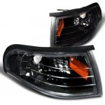 Ford Mustang 1994-1998 Black Corner Lights