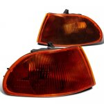 Honda Civic Sedan 1992-1995 Smoked Amber Corner Lights